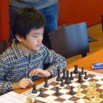 Qiyou bei seinem ersten Jugendligaeinsatz